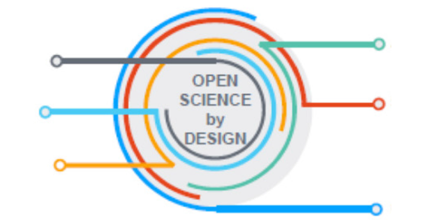 Cover graphic from Open Science by Design report publication